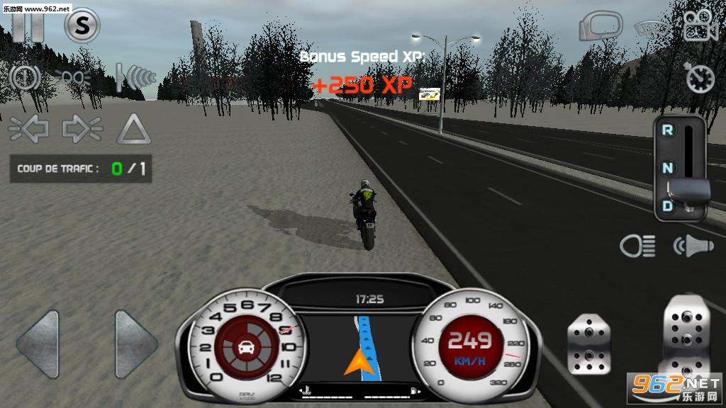 真实驾驶模拟摩托车无限金币版v4.1最新破解版截图1
