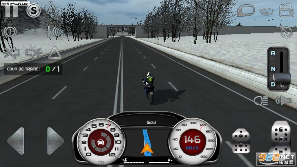 真实驾驶模拟摩托车无限金币版v4.1最新破解版截图2