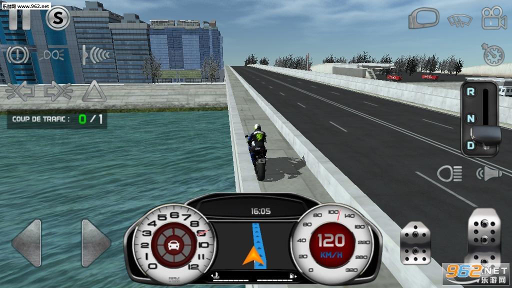 真实驾驶模拟摩托车无限金币版v4.1最新破解版截图3