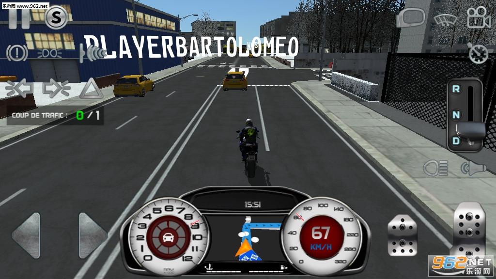 真实驾驶模拟摩托车无限金币版v4.1最新破解版截图4