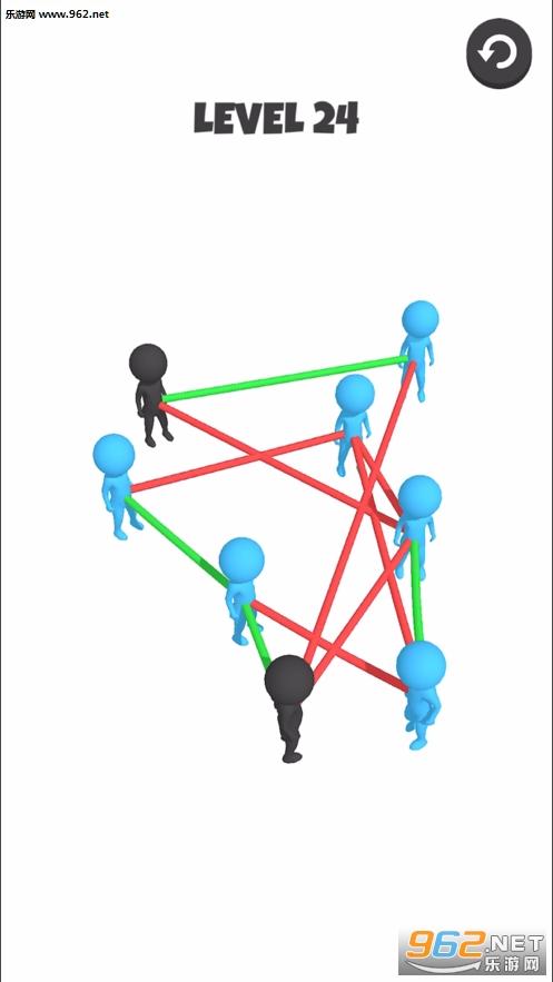 我解绳子贼6(Untwist 3D)v1.0.2 官方版截图1