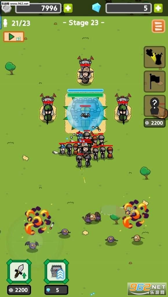 怪兽公园游戏v0.18无限金币版截图0
