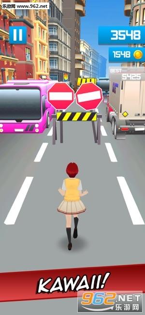 Sakura Anime School Girl最新版v2.0 手机版截图3