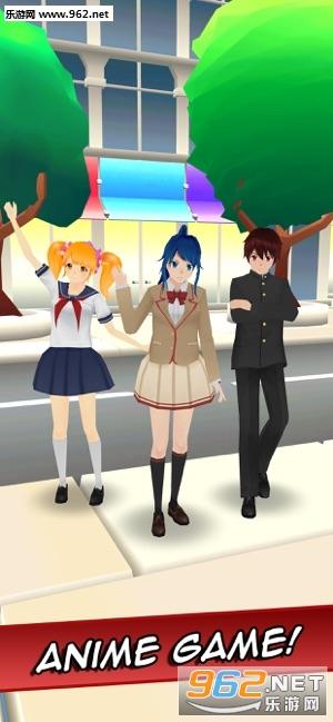 Sakura Anime School Girl最新版v2.0 手机版截图4