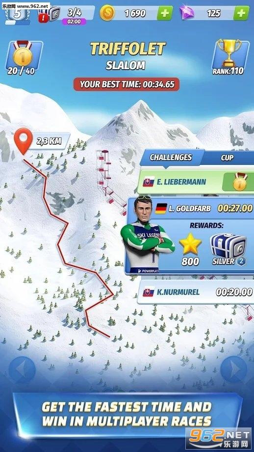 滑雪传奇SkiLegends手游v4.0最新版截图4