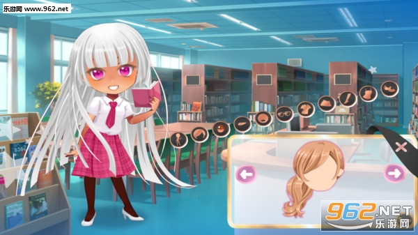 动漫校园装扮女孩最新版v1.0.0 安卓版截图2