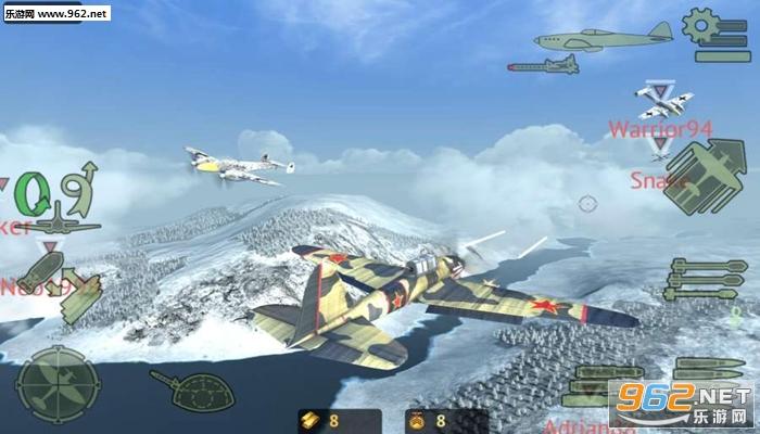 空战战机游戏破解版v0.8 手机版截图6