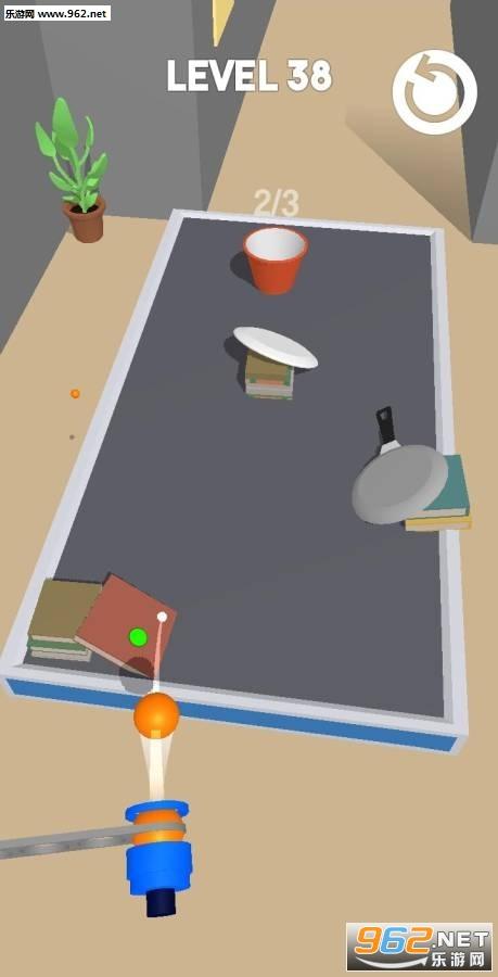 弹跳乒乓球破解版v1.0.3 最新版截图0