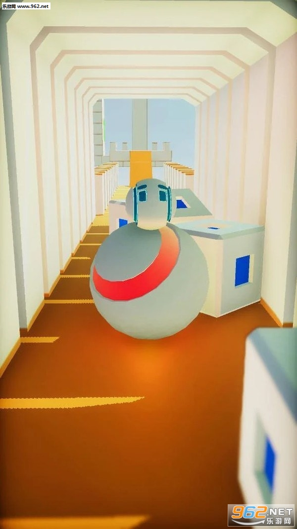 滚动机器人手游v0.2小游戏截图1