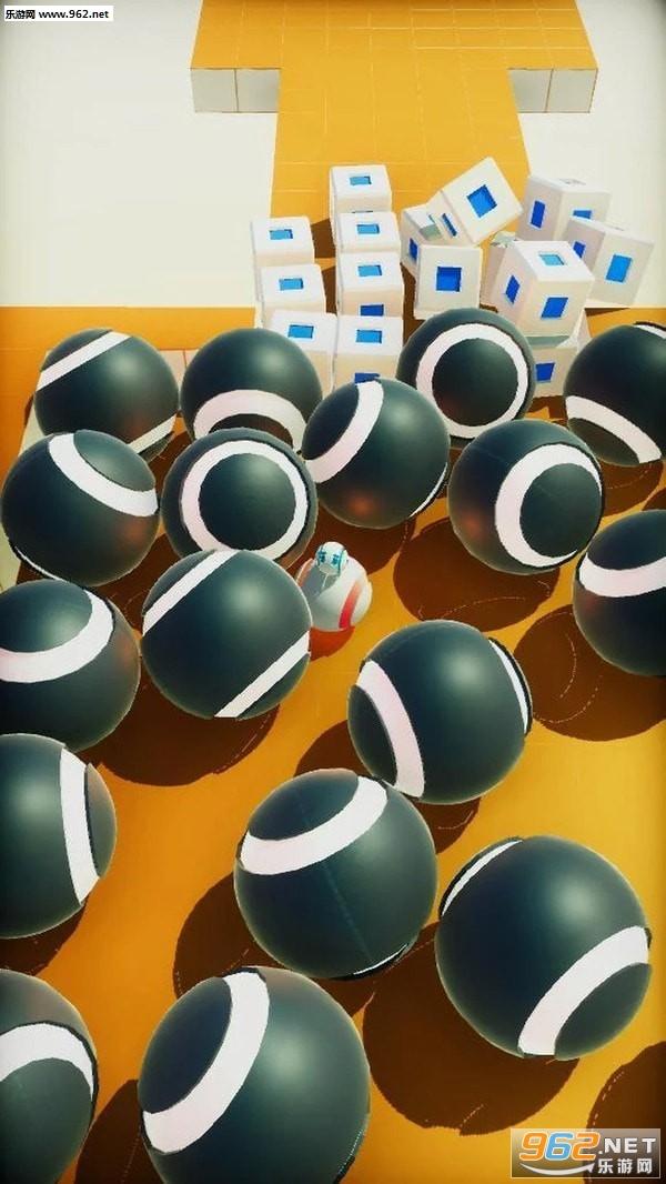 滚动机器人手游v0.2小游戏截图3