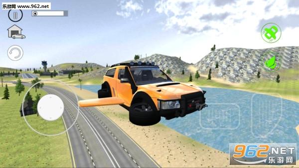 飞翔汽车之城3D安卓版v1.0_截图0