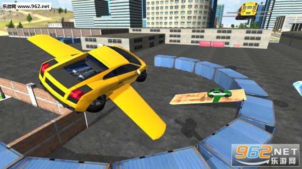飞翔汽车之城3D安卓版v1.0_截图1