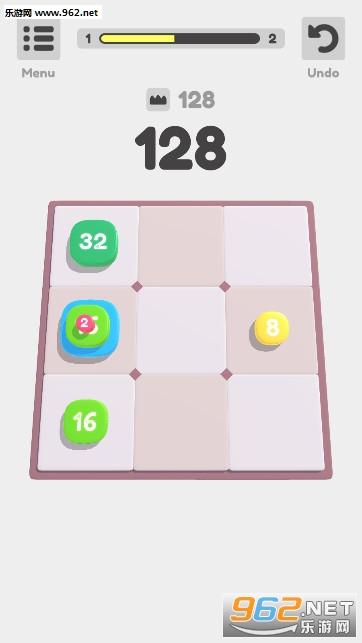 2048叠叠叠游戏v0.1无限道具版截图1