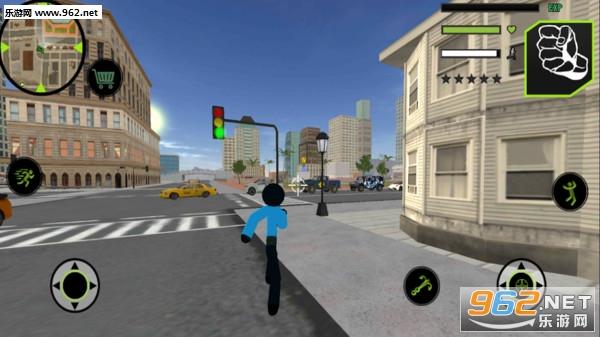 火柴人警察英雄安卓版v1.0 完整版截图0