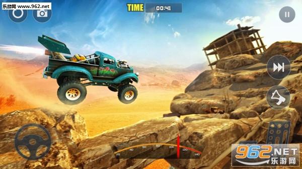 越野攀登怪物卡车山赛车安卓版v1.0 手机版_截图4