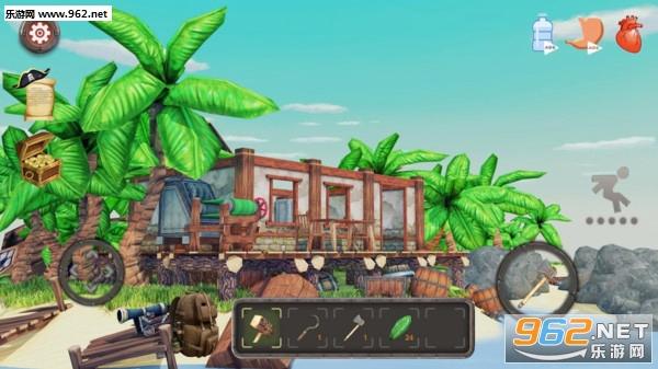 岛屿生存模拟器中文版v1.7.8 完整版截图0