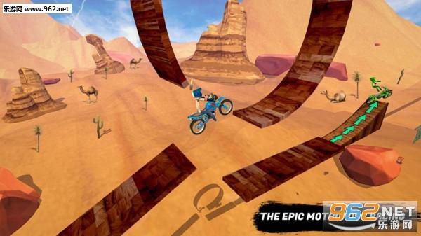 火柴人自行车骑手安卓游戏v1.0 手机版截图0