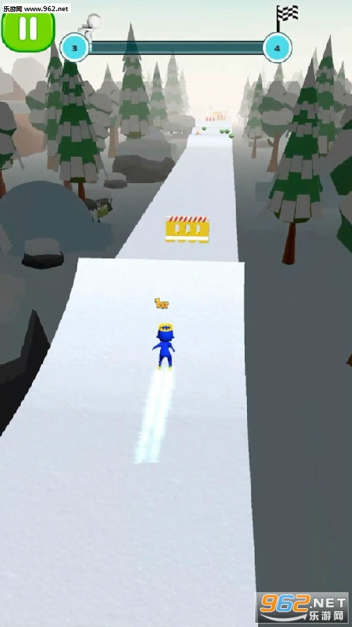 滑雪冲冲冲手游