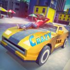 疯狂小镇的终极出租车驾驶司机破解版v0.4赛车解锁版