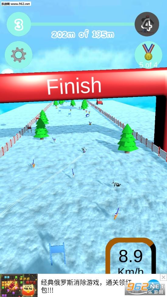 滑雪模拟器游戏v0.5 中文版截图0