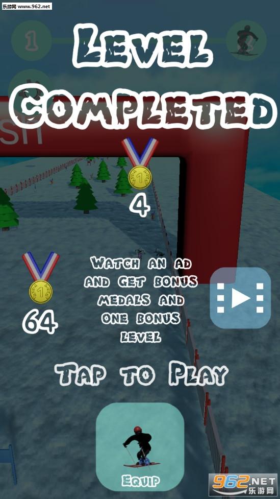 滑雪模拟器游戏v0.5 中文版截图2