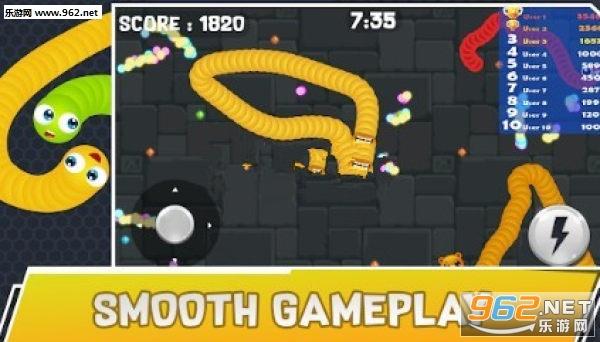 愤怒的爬行者游戏安卓版v1.0吞噬解压游戏截图2