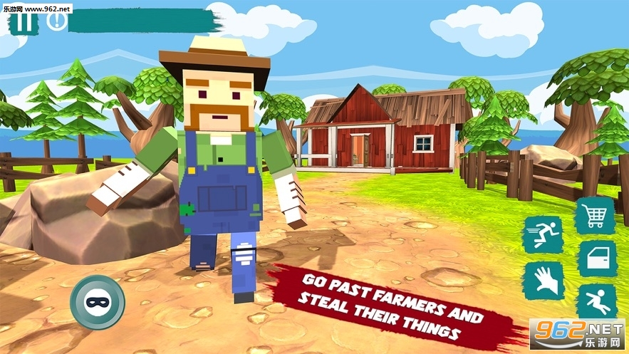 愤怒的农夫小偷最新版v1.0安卓版截图2