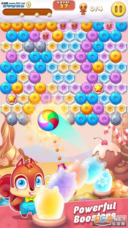 泡泡射手饼干游戏破解版苹果版截图2