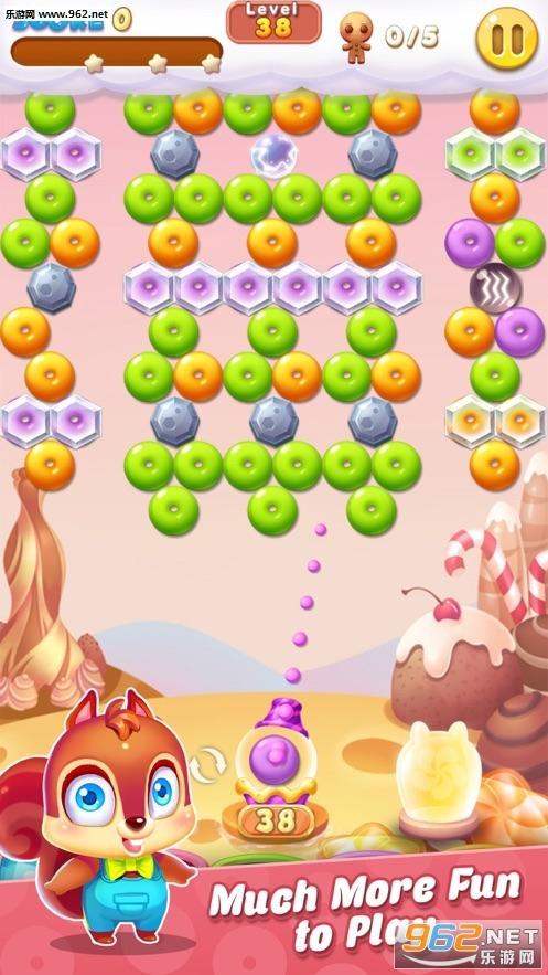 泡泡射手饼干游戏破解版苹果版截图3