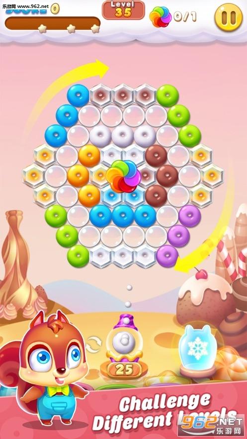 泡泡射手饼干游戏破解版苹果版截图4