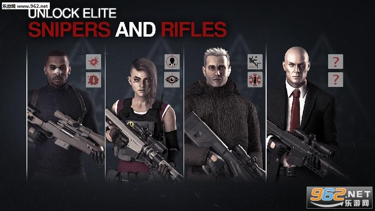 狙击杀手2世界刺杀中文免费完整版v0.1.1 全武器截图1
