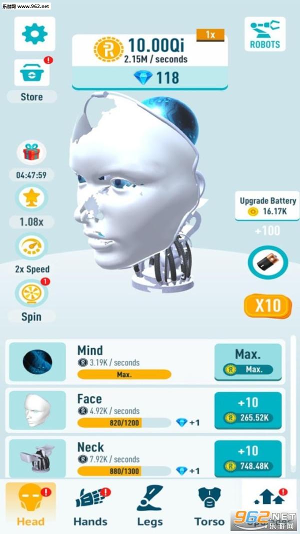 闲置机器人中文完整版v0.3 免费版截图2
