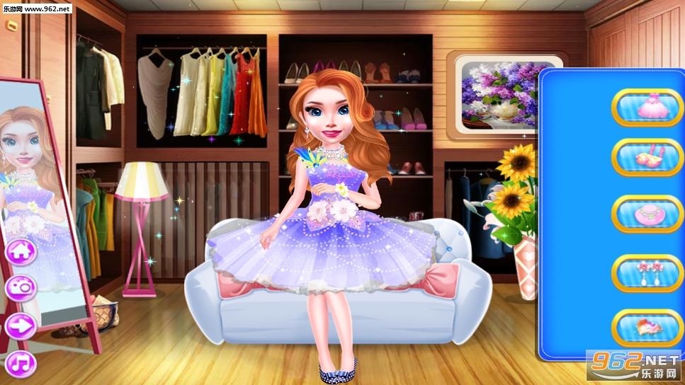 给公主换婚纱游戏下载_公主裙简笔画婚纱