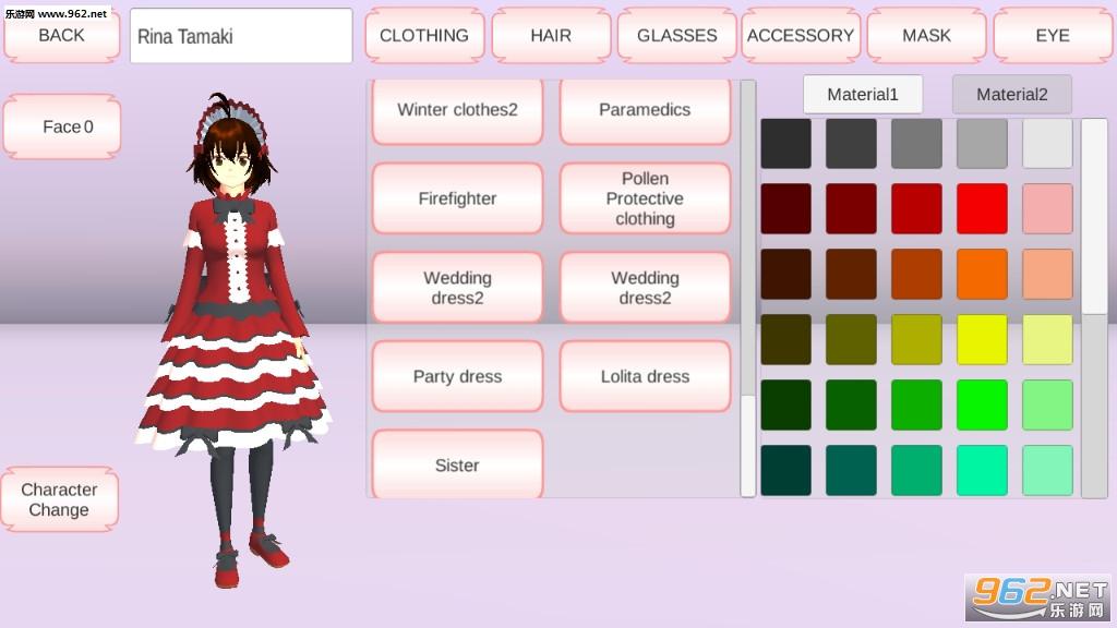 樱花校园模拟器日本盔甲新礼服全服饰解锁版v1.035.02 十八汉化截图3