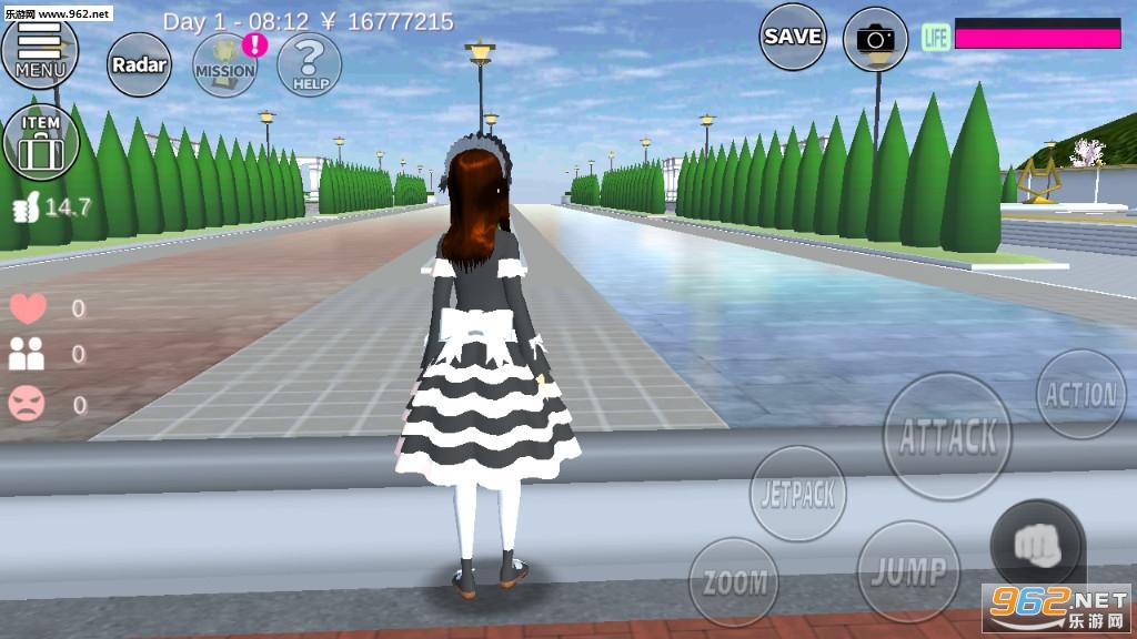 樱花校园模拟器日本盔甲新礼服全服饰解锁版v1.035.02 十八汉化截图1