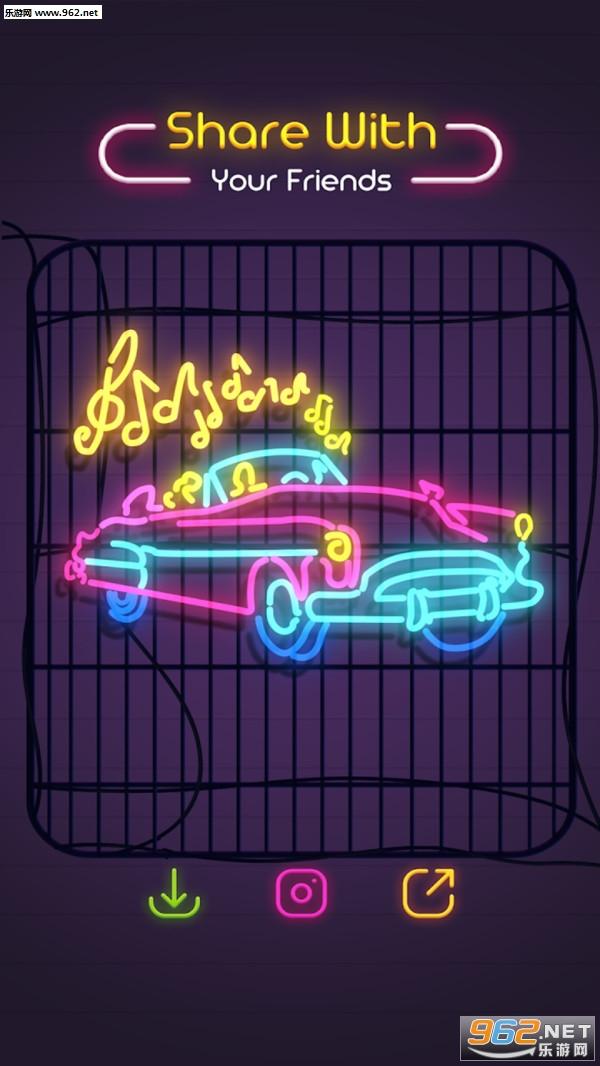 霓虹涂鸦2020完整版v1.0.2 免费版截图0