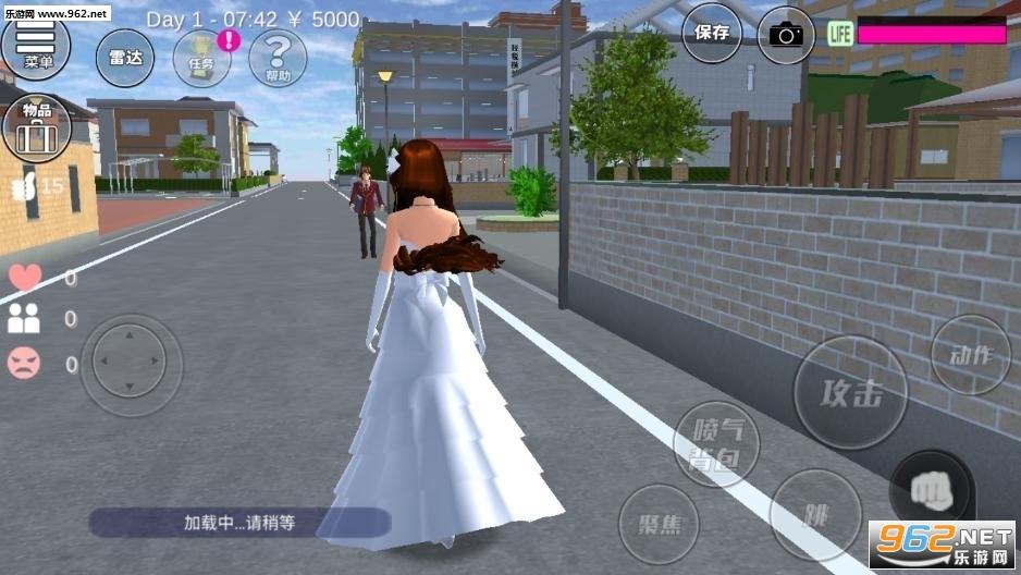 樱花校园模拟器最新版洛丽塔中文版v1.035.05 虫虫助手截图1