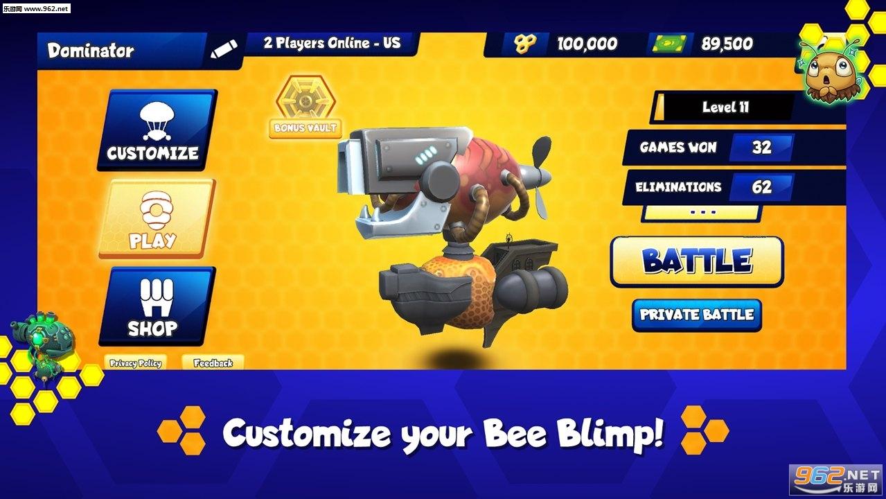 蜜蜂大逃杀安卓最新版v1.1.1免费版截图0