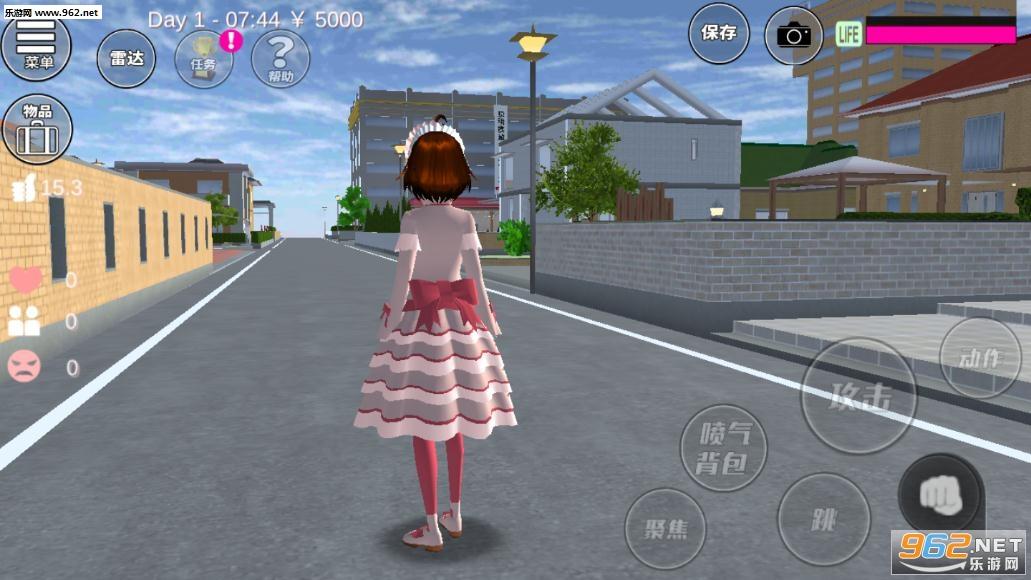樱花校园模拟器公主版v1.035.04 中文截图3