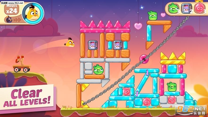Angry Birds Casual破解版中文版截图1