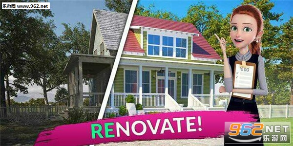 翻新这个房子破解版v1.68 无限金币截图2