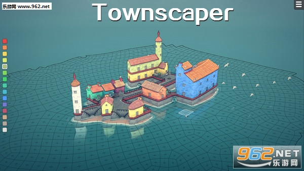 Townscaper(城镇建造模拟游戏)