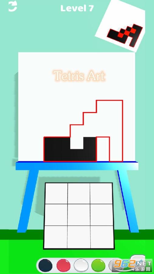 Tetris Art小游戏