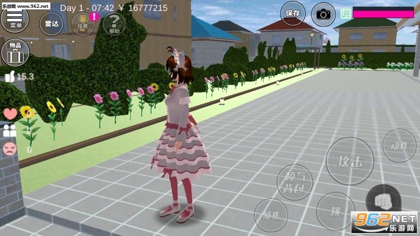 樱花校园模拟器更新家具v1.036.00 洛丽塔截图0