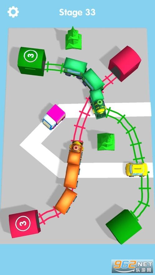 画个车道游戏v1.0 官方版截图1