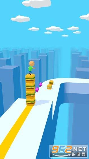 魔方一起浪手游v1.0.2 (Cube Surfer)截图1