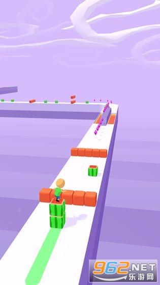 魔方一起浪手游v1.0.2 (Cube Surfer)截图2