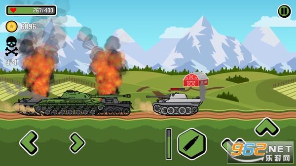 登山坦克3破解版v1.0.3 全解锁截图0