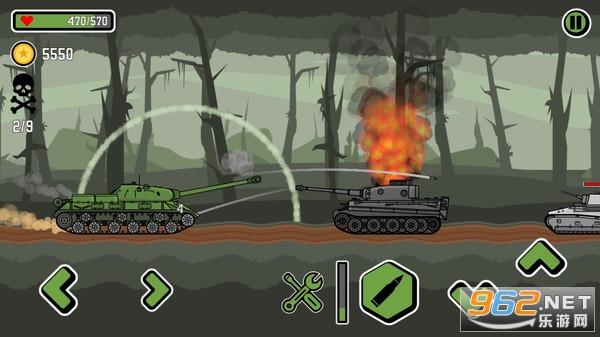 登山坦克3破解版v1.0.3 全解锁截图3
