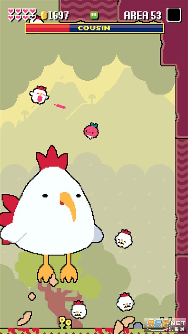 超级战斗鸡2最新中文版v1.07.0 魔性闯关截图0